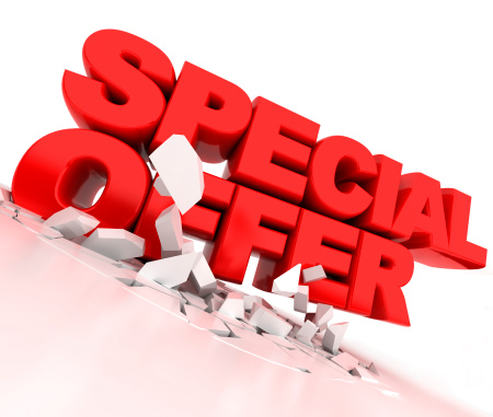 Special Offer with Promotional Coupons