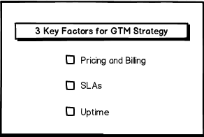 3 key factors for GTM Strategy