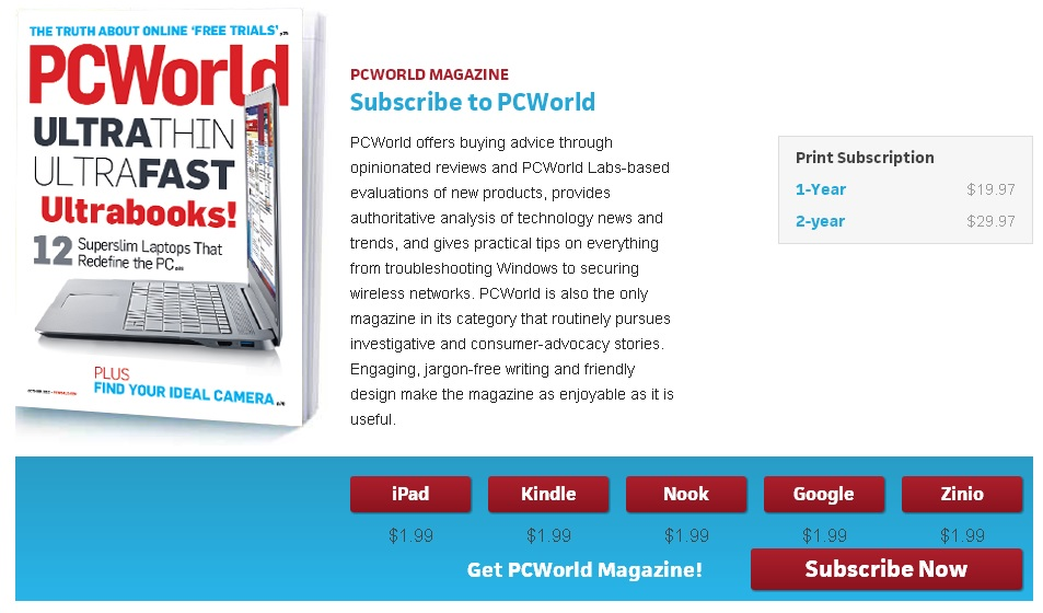 PC World Subscription