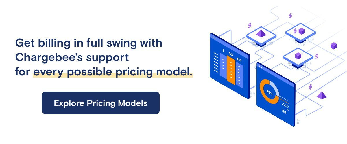 Chargebee SaaS pricing models