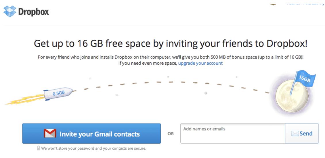 dropbox free trial