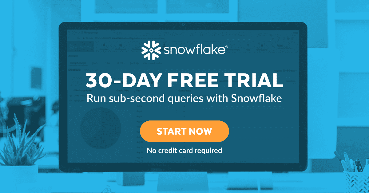 Snowflake Free Trial
