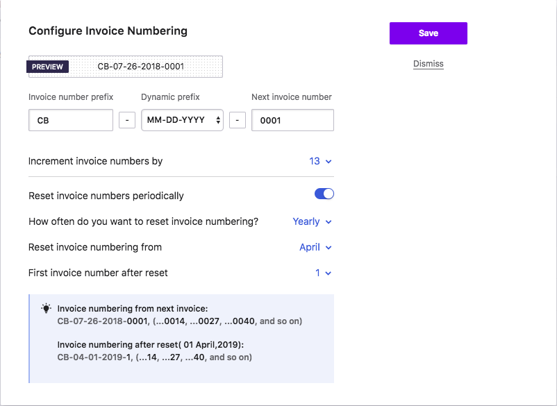 Invoice And Credit Note Numbering - What is invoice number