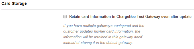 Cards: Payments via Credit/Debit cards - Chargebee Docs