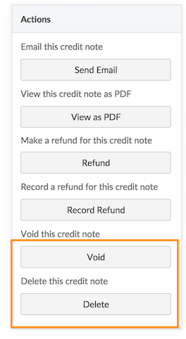 Credit Notes Chargebee Docs