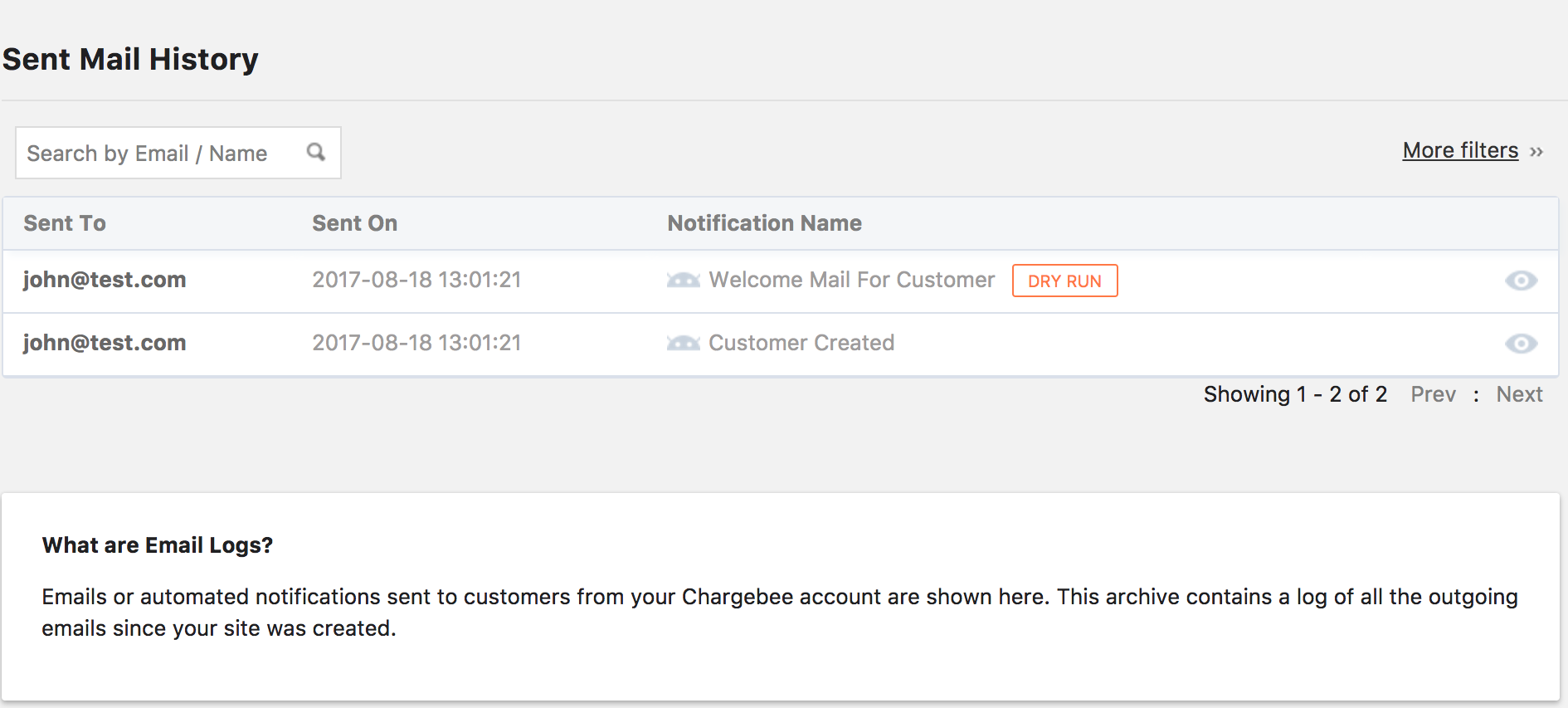 Email Notifications Connecting With Customers Made Easy Chargebee - Invoice mail