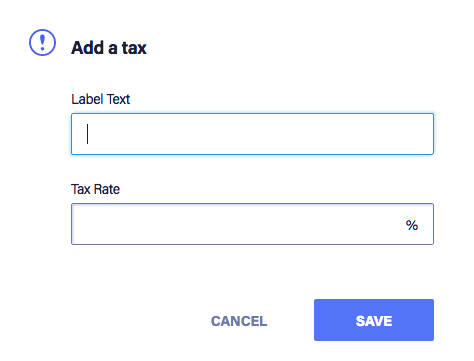 General Tax: Rules, Rates & Configuration Options