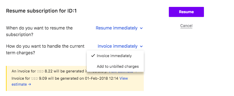 Pause Subscription - Chargebee Docs