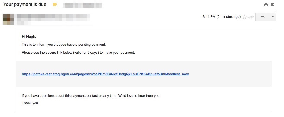 Pay Now: Billing Feature Chargebee Docs