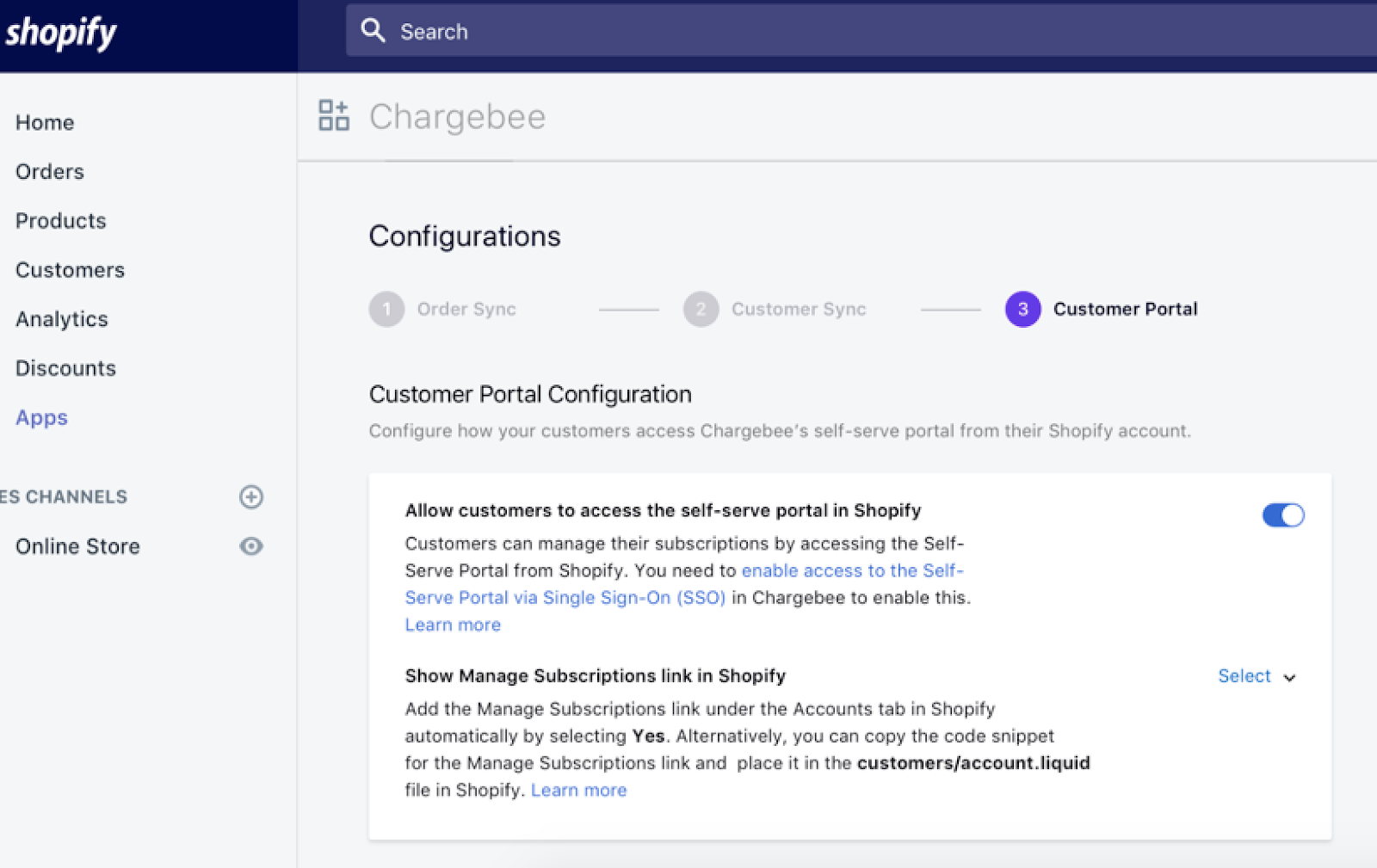 Shopify - Chargebee Integration