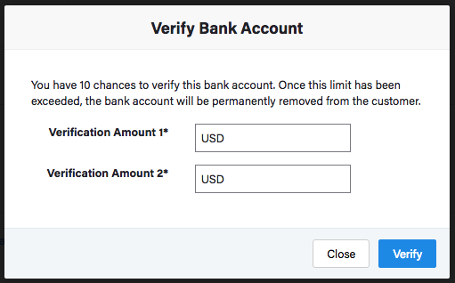 Payment Methods: ACH payments via Stripe - Chargebee Docs